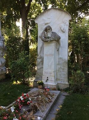 Brahms grave