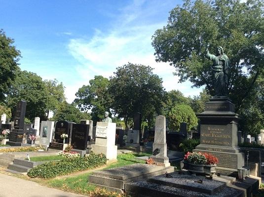 Vienna Central Cemetery - graves
